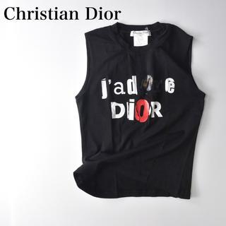 Christian Dior - クリスチャンディオール ロゴ タンクトップ Tシャツ ジョンガリアーノ
