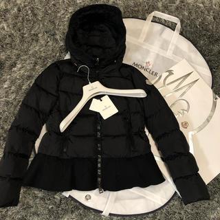 MONCLER - モンクレール 正規品 NESEA サイズ0 ブラック ダウンジャケット