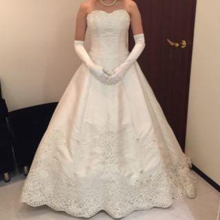 【大特価!!】ロングトレーン ウェディングドレス 結婚式 撮影 (ウェディングドレス)