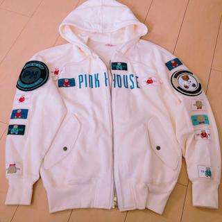 ピンクハウス(PINK HOUSE)のパーカー トレーナー フード付き(パーカー)