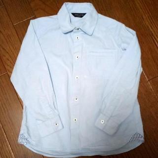 コムサイズム(COMME CA ISM)のブルーのシャツ(Tシャツ/カットソー)
