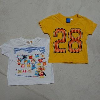 アンパンマン - Tシャツ2枚セット アンパンマン ミッキー 90