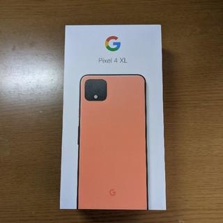 アンドロイド(ANDROID)の極美品A :Google Pixel 4 XL Oh So Orange 64G(スマートフォン本体)