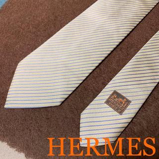Hermes - 【送料無料】エルメス HERMES ネクタイ ストライプ柄
