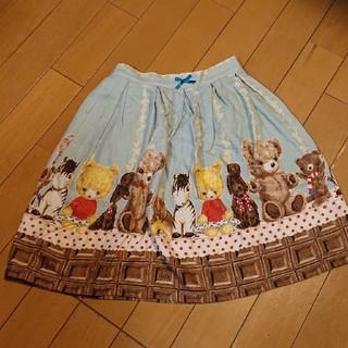 Shirley Temple - シャーリーテンプル ルル チョコ ぬいぐるみスカート サイズ130
