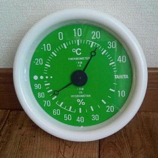 タニタ(TANITA)のタニタ温湿度計(置時計)