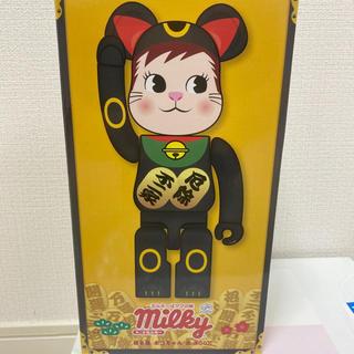 メディコムトイ(MEDICOM TOY)の【未開封】BE@RBRICK 招き猫 ポコちゃん 黒 400%(その他)