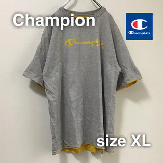 チャンピオン(Champion)のChampion(チャンピオン)リバーシブル Tシャツ XL ゆるダボ(Tシャツ/カットソー(半袖/袖なし))