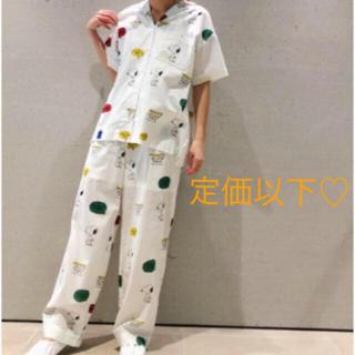 gelato pique - ジェラートピケ♡ 【PEANUTS】シャツ&ロングパンツ
