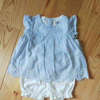 ニシマツヤ(西松屋)の西松屋 セットアップ 60-70(Tシャツ)