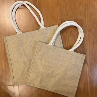 MUJI (無印良品) - 無印 2つセット 新品 ジュートマイバッグ