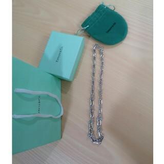 ティファニー(Tiffany & Co.)のティファニー TIFFANY ネックレス シルバー(ネックレス)