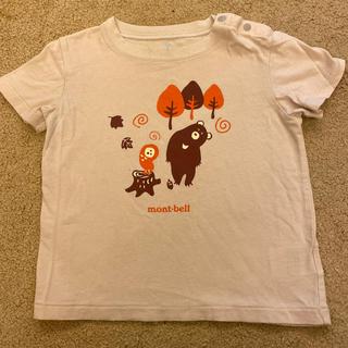 モンベル(mont bell)のモンベル ベージュTシャツ 90㎝(Tシャツ/カットソー)