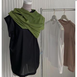 アメリヴィンテージ(Ameri VINTAGE)のMEDI USEFUL SHEER TANK(Tシャツ(半袖/袖なし))