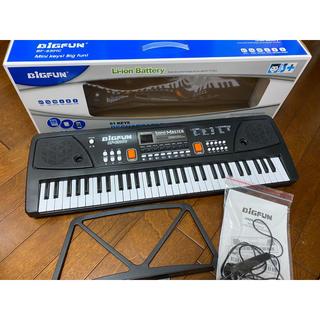 Amazonで購入 SANMERSEN 電子キーボード 61鍵盤 ジャンク(電子ピアノ)