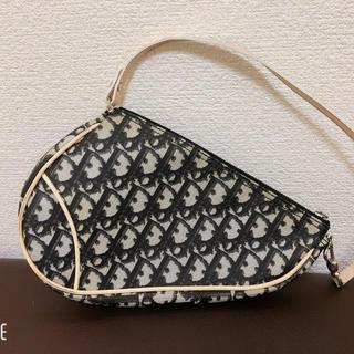 Christian Dior - ディオール トロッター サドルバッグ