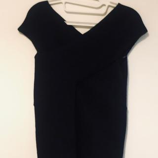 アンレリッシュ(UNRELISH)の☆UNRELISH☆ カットソー ブラック 専用(Tシャツ(半袖/袖なし))