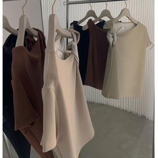 アメリヴィンテージ(Ameri VINTAGE)のSHOULDER TWIST TEE(Tシャツ(半袖/袖なし))