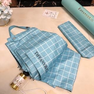 Tiffany & Co. - ティファニー折りたたみ傘 晴雨兼用