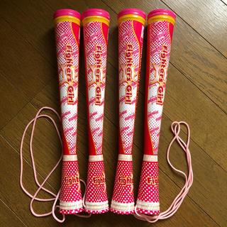 ホッカイドウニホンハムファイターズ(北海道日本ハムファイターズ)のファイターズガール ツインスティック×2(応援グッズ)