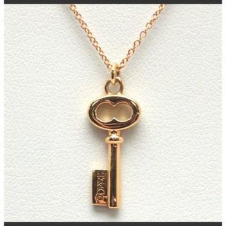 ティファニー(Tiffany & Co.)のTIFFANY&CO/ティファニー鍵モチーフネックレス美品💕(ネックレス)