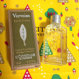 L'OCCITANE - ロクシタン ヴァーベナ オードトワレ 香水 ミニサイズ 10ml
