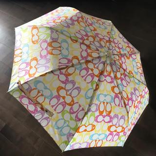 COACH - COACH コーチ 折りたたみ 傘