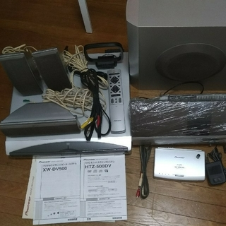 Pioneer HTZ-500DV 5.1cn サラウンドシステム 動作確認済み