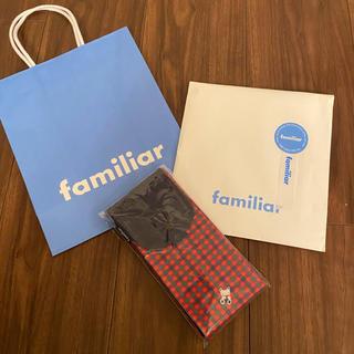 ファミリア(familiar)のファミリアエコバッグ新品未使用ギフト包装(エコバッグ)