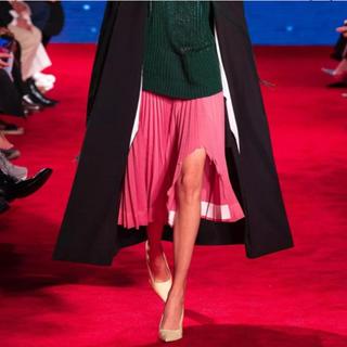 カルバンクライン(Calvin Klein)の新品タグ付 Calvin Klein カルバンクライン SS19 38 ピンク(ひざ丈スカート)