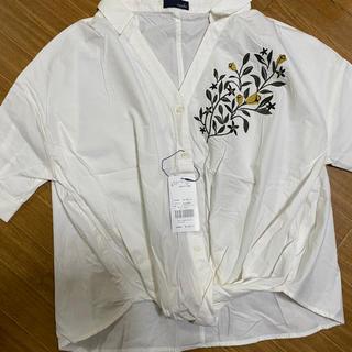 エージープラス(a.g.plus)のa.g.plus シャツ ブラウス(シャツ/ブラウス(半袖/袖なし))