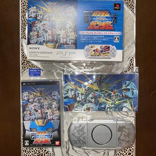 プレイステーションポータブル(PlayStation Portable)のガンダムVS.ガンダム プレミアムパック(携帯用ゲームソフト)