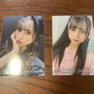 エイチケーティーフォーティーエイト(HKT48)の清水梨央 HKT48 メンバープロデュース 生写真(アイドルグッズ)