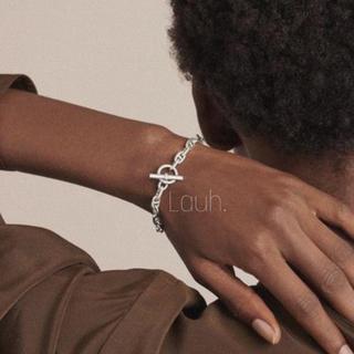 L'Appartement DEUXIEME CLASSE - j329.chaine dancre bracelet(silver)
