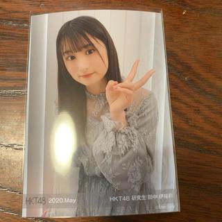 エイチケーティーフォーティーエイト(HKT48)の田中伊桜莉HKT48 メンバープロデュース 生写真(アイドルグッズ)