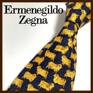 エルメネジルドゼニア(Ermenegildo Zegna)のエルメネジルドゼニア シルクネクタイ イタリア製 高級 人気ブランド(ネクタイ)