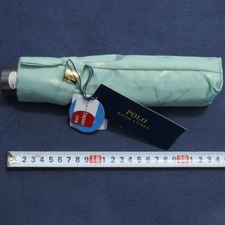 Ralph Lauren - 新品 ラルフローレン 折りたたみ傘 レディース 傘 折り畳み