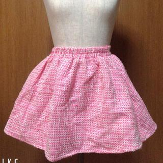 マーズ(MA*RS)のMARS ピンクツイードスカート(ミニスカート)