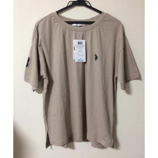 POLO RALPH LAUREN - タグ付き未使用品 us polo assn tシャツ   ベージュ