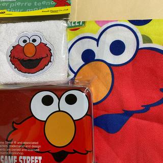 セサミストリート(SESAME STREET)のエルモ 巾着、缶ケース、リストバンド セット(キャラクターグッズ)