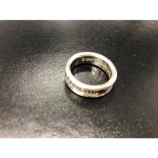 ティファニー(Tiffany & Co.)のティファニー 1837 ナローベーシック リング 指輪 925 シルバー 銀(リング(指輪))