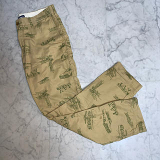 エクストララージ(XLARGE)の【総柄パンツ】Xlarge LAX  pants(ワークパンツ/カーゴパンツ)