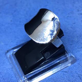 スプーンリング 逆甲丸 シルバー925 リング  誕生祝い 銀指輪 シンプル甲丸(リング(指輪))