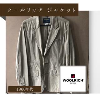 ウールリッチ(WOOLRICH)の【WOOL RICH】ウールリッチ テーラードジャケット(テーラードジャケット)