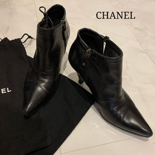CHANEL - CHANEL シャネル ショートブーツ