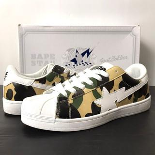 A BATHING APE - 【H】A BATHING APE 1st CAMO SKULL STA 27.5