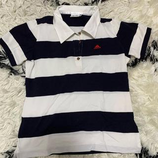 アディダス(adidas)のadidas ポロシャツ Mサイズ(ポロシャツ)
