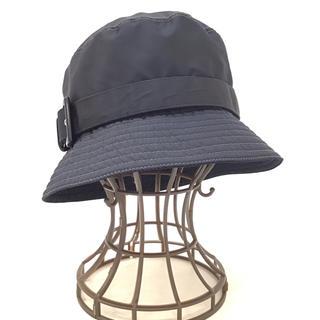 プラダ(PRADA)の6082 PRADA プラダ 帽子 バケットハット ナイロン Mサイズ(ハット)