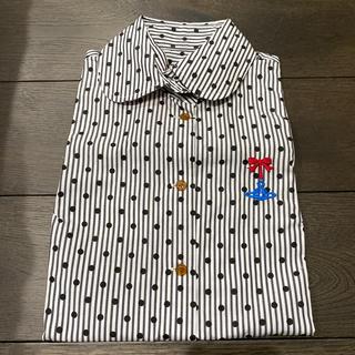 ヴィヴィアンウエストウッド(Vivienne Westwood)のヴィヴィアンウエストウッド ブラウス サイズ2 新品未使用(シャツ/ブラウス(半袖/袖なし))