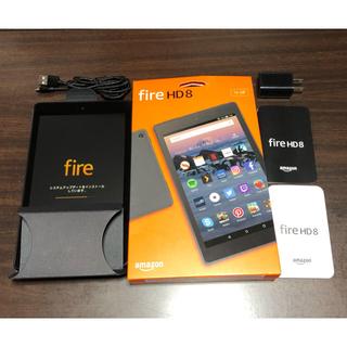 アンドロイド(ANDROID)の【Alexa搭載】Amazon Fire HD 8 第8世代 16GBカバー付き(タブレット)